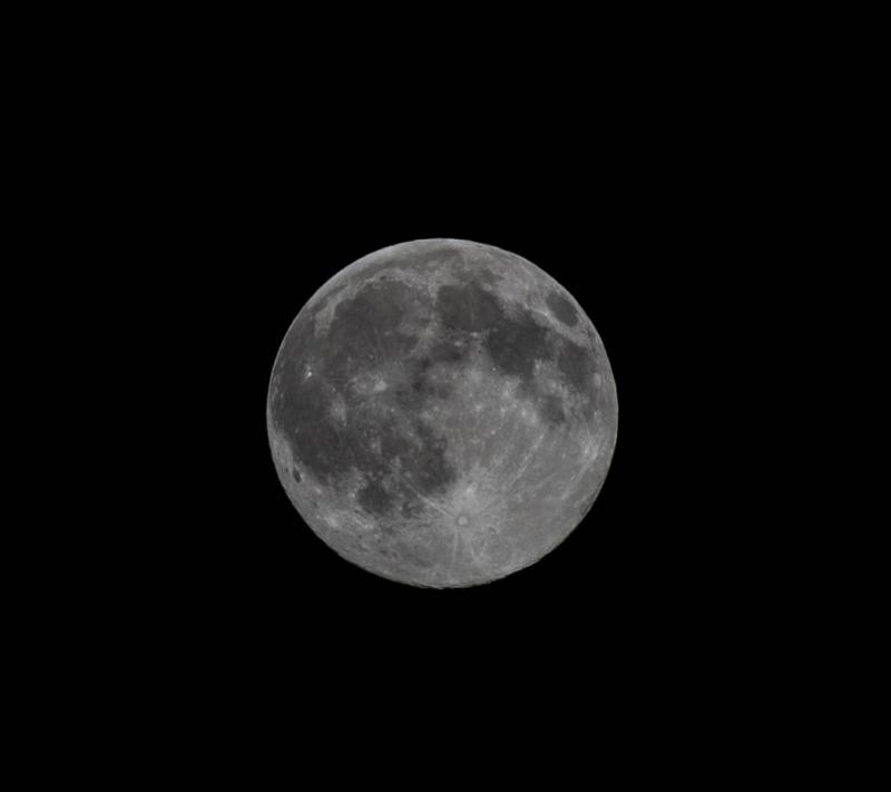 Full Moon June 2016