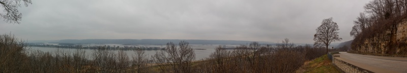 Mississippi River, Garnavillo Iowa