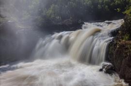 Cascade Falls Minnesota Mist