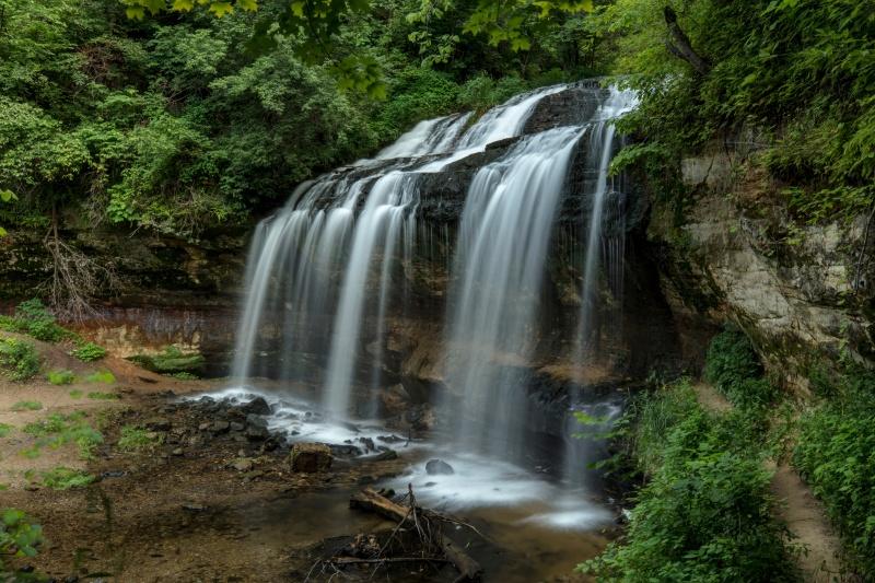 Cascade Falls Wisconsin