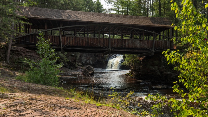 Amnicon Falls Covered Bridge