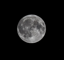 Full Moon October 2017