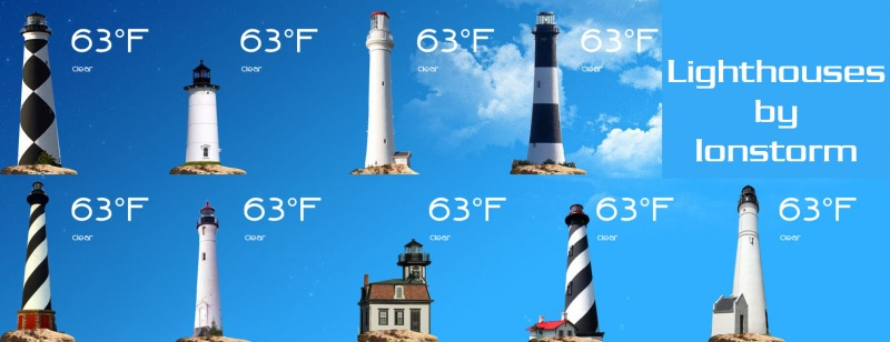 Lighthouse Weather for Rainmeter