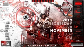 Assassins Creed Desktop for Rainmeter