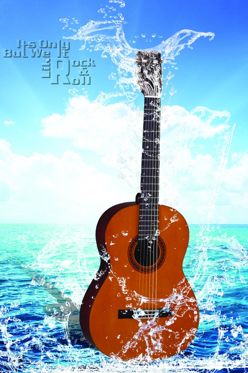 Water With Gitar