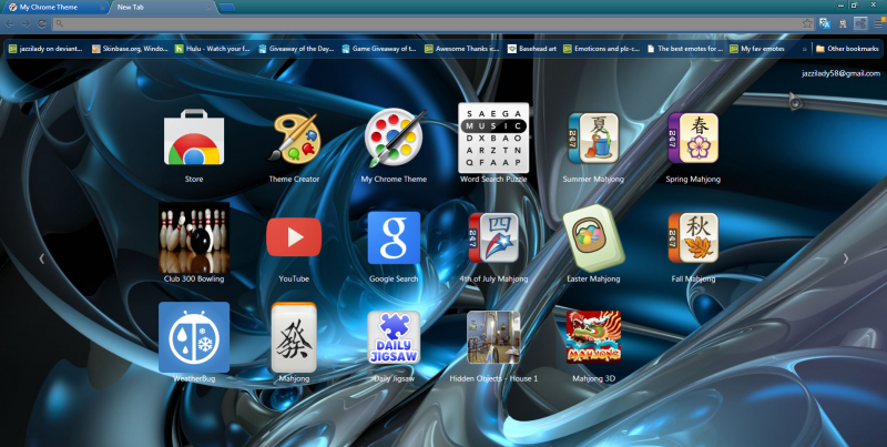Shasta Chrome theme