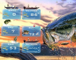 Outdoor Living - Fishing - for Rainmeter