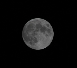 Full Moon October 2014