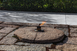 John F. Kennedy Gravesite - Eternal Flame