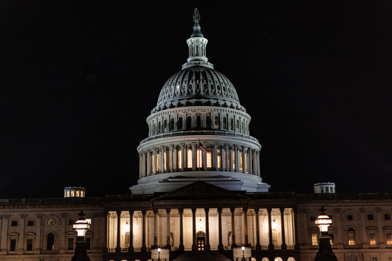 U.S. Capitol @ Night
