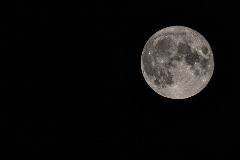 Full Moon August 3, 2020