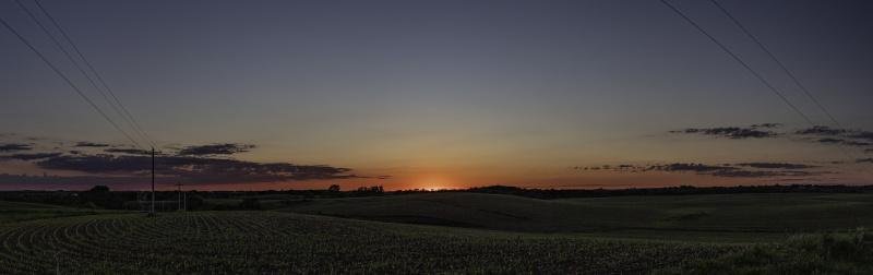 Sunset May 31, 2021
